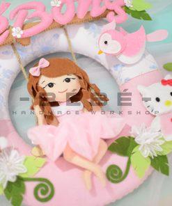 Quà sinh nhật bé gái handmade TN29
