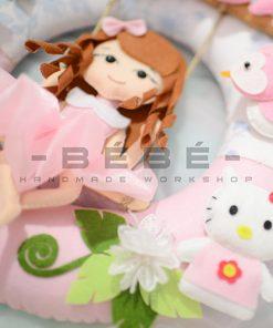 Trang trí sinh nhật bé gái handmade TN29