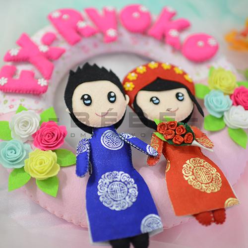 Quà cưới handmade DC04