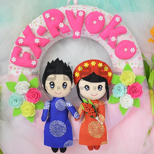 Vòng cưới handmade DC04