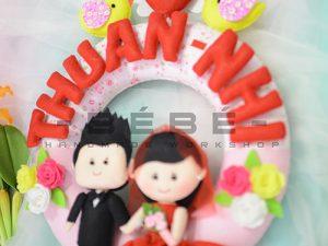 Quà cưới handmade DC07