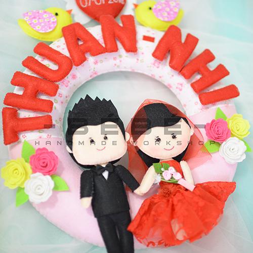 Vòng cưới handmade DC07