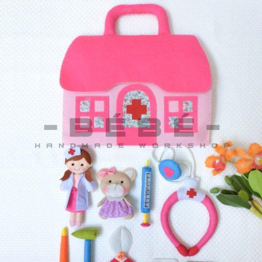 Bộ đồ chơi bác sĩ bé gái PK02