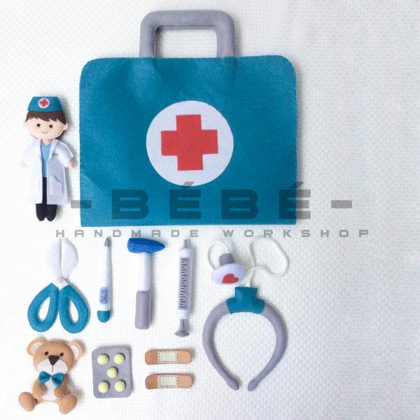 Bộ đồ chơi bác sĩ bé trai PK02