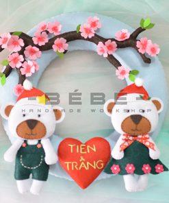 Vòng cưới handmade DC06