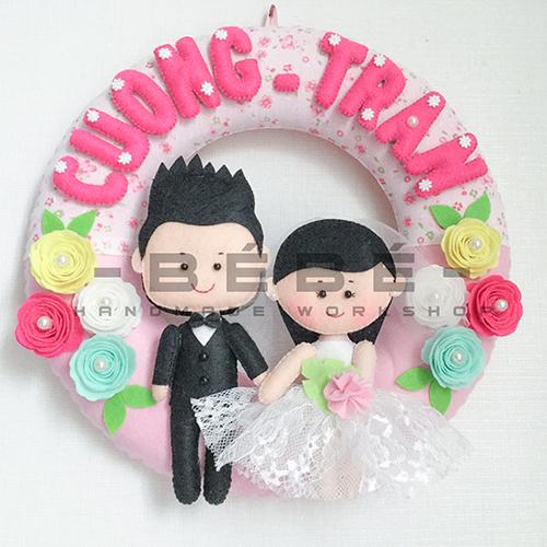 Vòng cưới handmade DC02