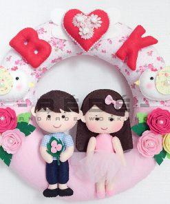 Vòng cưới handmade DC03