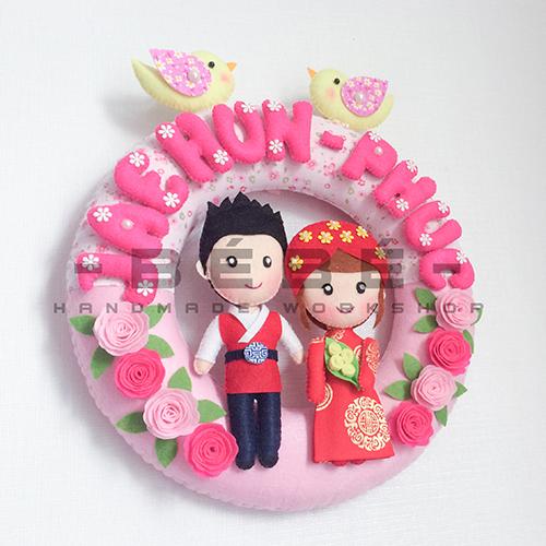 Vòng cưới handmade DC05