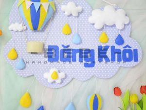 Phụ kiện trang trí sinh nhật bé trai BT02