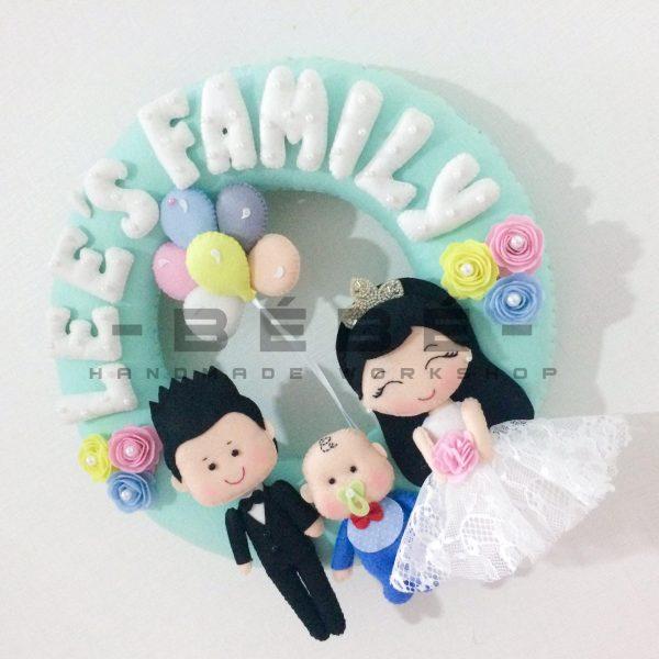 Trang trí tiệc cưới handmade DC08