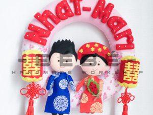 Vòng cưới handmade DC09
