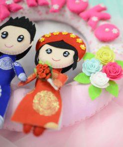 Vòng cưới handmade