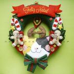 Các món đồ trang trí Giáng Sinh handmade vải nỉ