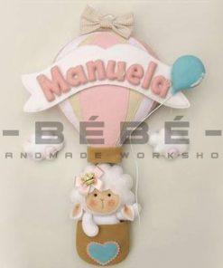 Bảng tên handmade bé gái BT14