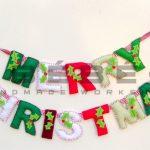 Dây chữ trang trí handmade mùa Giáng Sinh