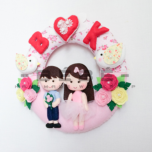 Quà cưới handmade DC03