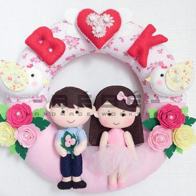 Quà cưới handmade vải nỉ DC03
