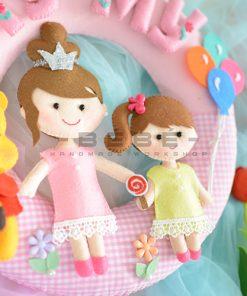 Trang trí sinh nhật bé gái TN33