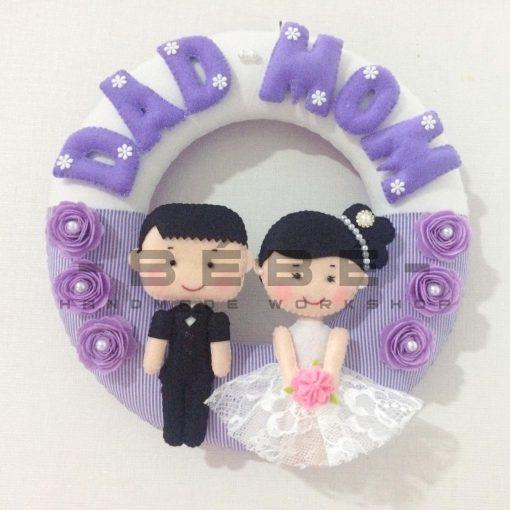 Vòng cưới handmade DC12