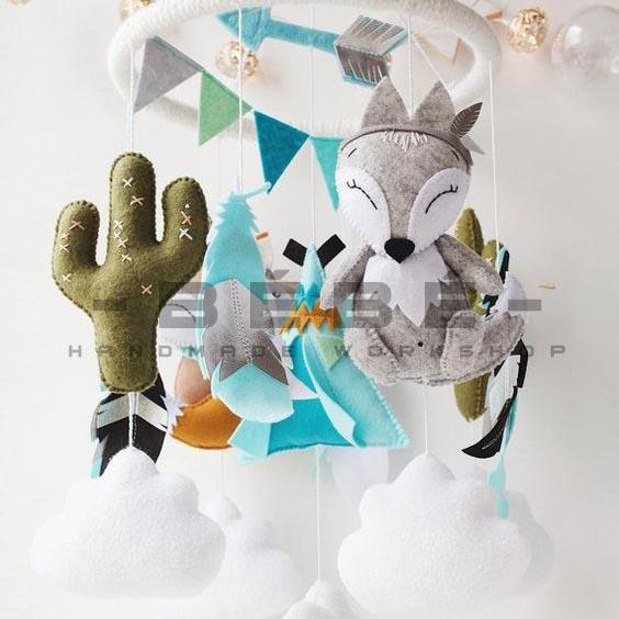 Đồ treo nôi handmade TC17