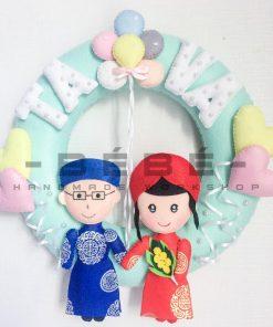 Vòng cưới handmade DC13
