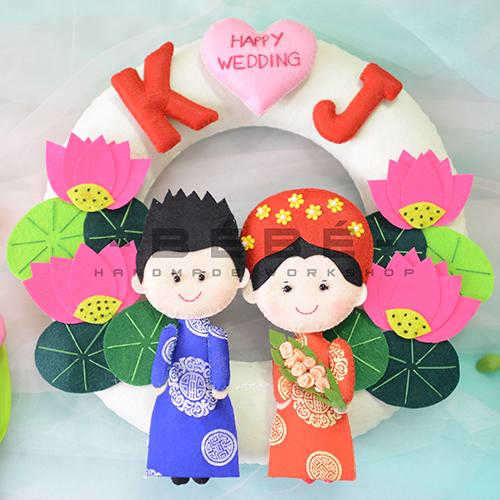 Vòng cưới handmade DC14