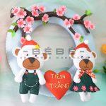 Món quà Valentine khắc tên cặp đôi